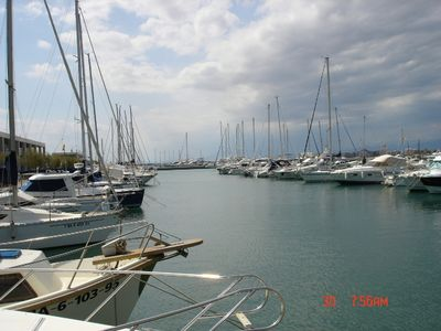 View of the Marina nearby