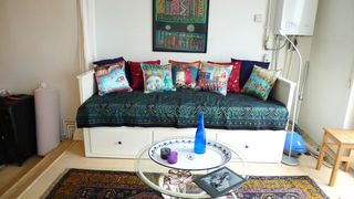 Istanbul apartment photo - Lots of Turkish tiles, art and rugs in this flat