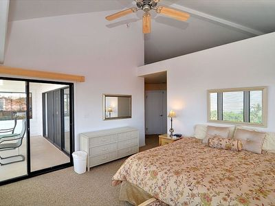 Master Bedroom with view of the lanai.