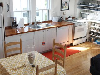 Provincetown condo photo - Open kitchen/living area.