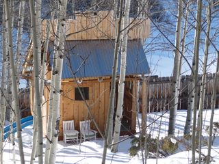 Telluride house photo - playhouse in winter