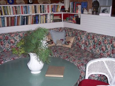 Book nook in living room