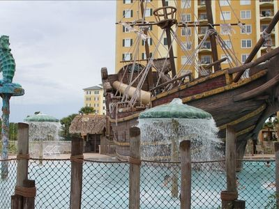 Picture of pirate pool.