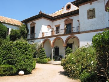 Hornachuelos chateau / country house rental - The astonishing main façade of the country Palace