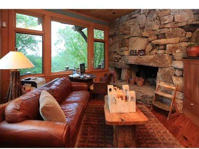 Chapel Hill lodge rental - Gathering Spot with Fireplace