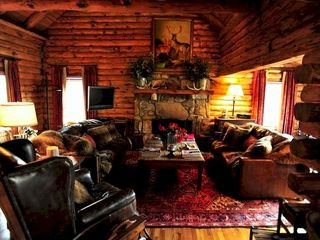 Big Canoe house photo - The cozy den