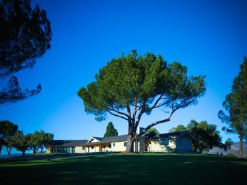 San Luis Obispo estate rental - View from below of the Ranch House