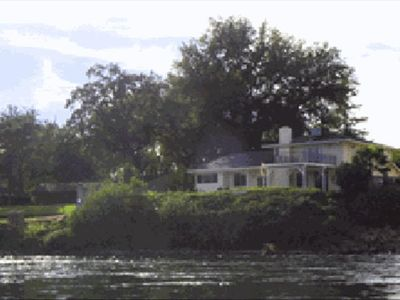 View from the river