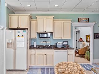 Summer Haven house photo - Our 1st floor kitchenette and dining room area.