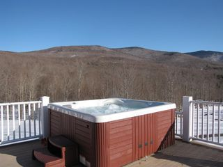 Jay Peak house photo - Enjoy a warm Hot Tub while gazing at the stars!