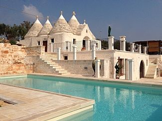 Beautiful Trulli With A Private Swimming Pool And Stunning Panoramic Views