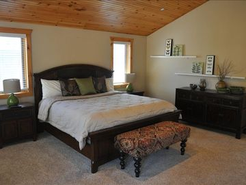 Our Master bedroom with King size bed.