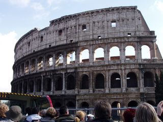 Trastevere area condo photo - Ancient Rome's sites are within a 3 1/2 mile walk or an easy bus ride on the # 3