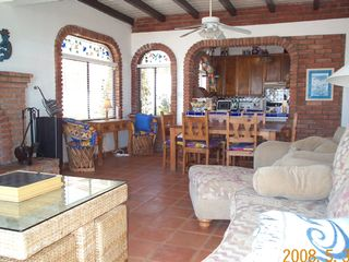 Las Gaviotas house photo - Dining Room and Kitchen