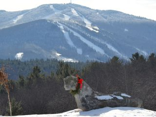 Sunapee house photo - Mt Sunapee from Burkehaven Hill in Winter (view from walking loop)