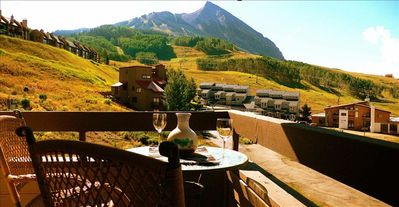Crested Butte condo rental - View from our balcony