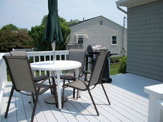 Scarborough Beach house photo - Large Deck with Gas Grill