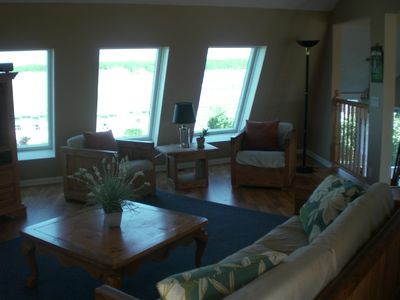 Biddeford house rental - Partial view of the Living Room