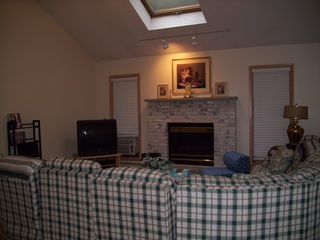 Lake Ariel house photo - Great/Family Room for TV & Chatting with Family & Friends~