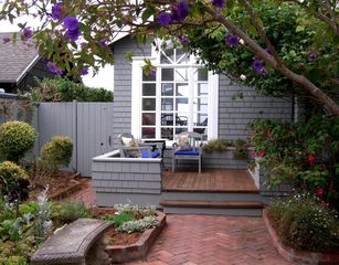 Bodega Bay cottage photo - View of garden and front of house