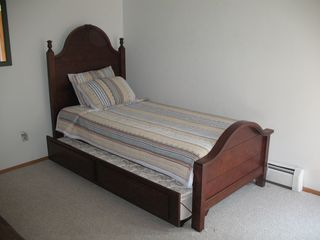 Cape May house photo - Trundle bed in 3rd bedroom