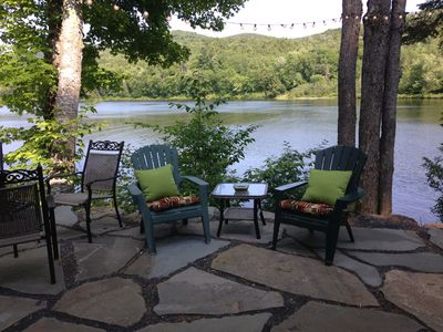 Gorgeous lakefront home on private wooded lot, close to Stowe and Jay Peak