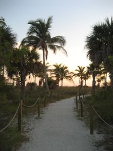 Private Path to Beach