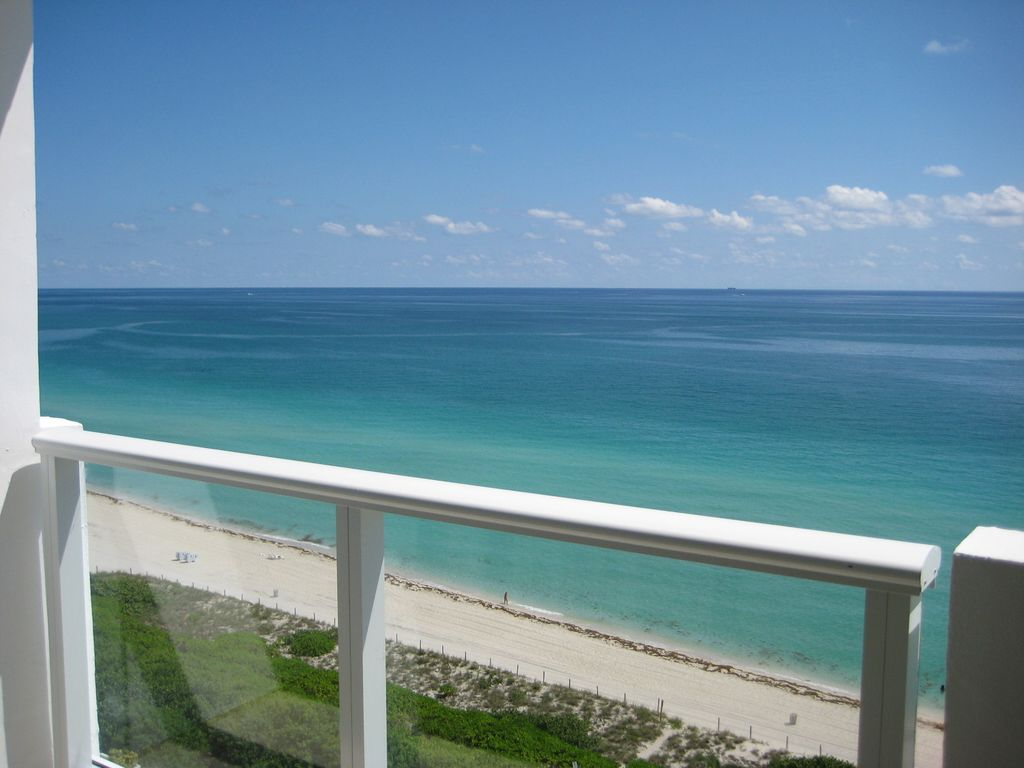 Miami beach oceanfront with balcony vrbo for What does balcony mean