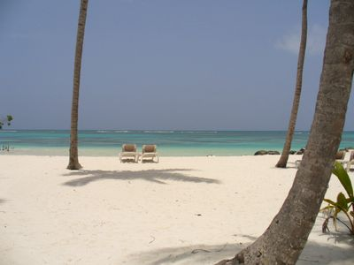 Beach near La Choza restaurant