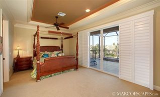Vacation Homes in Marco Island house photo - Bedroom Suite Three with Balcony ...