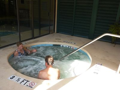 fitness,heated pool,hot tub $25/week