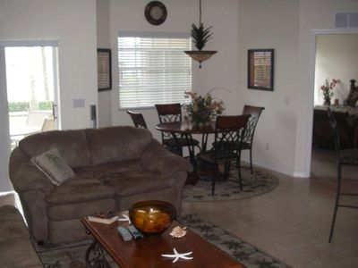 Family Room with Dinning