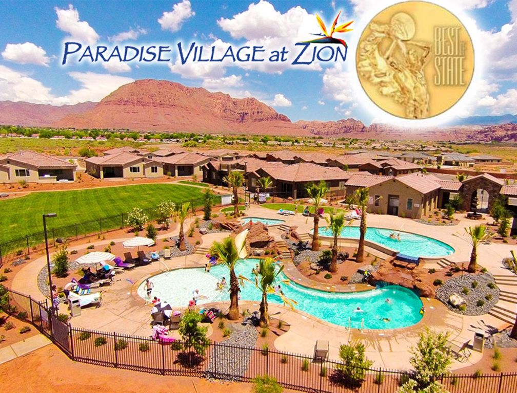 New paradise village at zion 3 bedroom vrbo for Affitto cabina park city utah