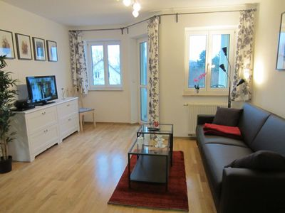 Near city, bright and modern apt. With balcony, car parking, Wi-Fi