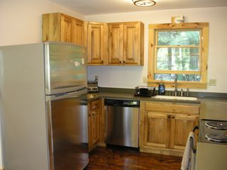 Lake Placid house photo - Kitchen with all new appliences, cupboards