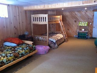 Denmark house photo - Newly remodeled basement. Perfect play-space for kids. Toys & TV not shown.
