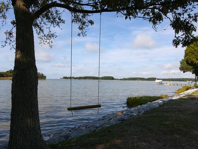 St. Michaels house rental - Waterfront Swing