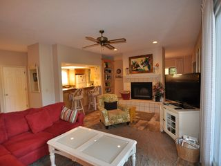 Palmetto Dunes house photo - Living Room with flat screen TV & HD box & DVD player.