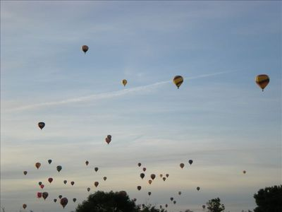 Come see the balloons, sunsets, road runners.... Balloon Fiesta 2011