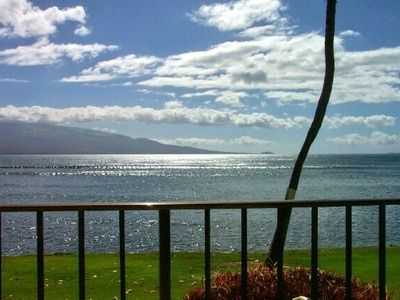 Wonderful view from the lanai of 107 Milowai