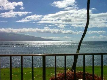 Maalaea condo rental - Wonderful view from the lanai of 107 Milowai