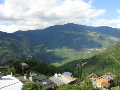 Summer views from chalet