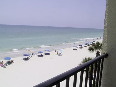 Living Room Overlooks the Gulf Of Mexico Balcony