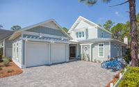 Brand new home in Watersound West Beach, community pool with 4 bikes