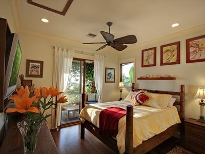 Master Suite #1 in Main House, Air Conditioned