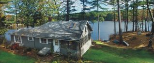 East Brookfield house photo - Panoramic Lake views out every window.