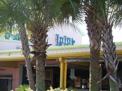 Lulu's Restaurant - Jimmy Buffet's sister owns this. Fun place to go to.