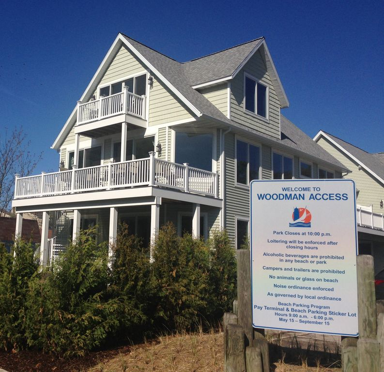 Beach House Decks: South Haven Vacation Rental