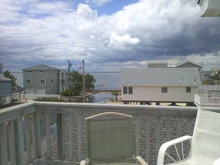 view to the right from the deck - Beach Haven house vacation rental photo