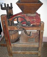 Saugatuck / Douglas apartment photo - Antique cider press